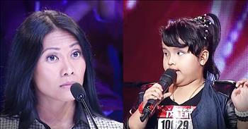 8-Year-Old Blind Singer's Audition Of 'Listen' Is Beyond Amazing!