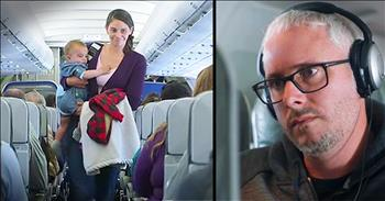 Mothers Flying With Crying Babies Get Heartwarming Surprise On Flight