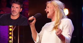 37-Year-Old Mom Singing 'With You' Leaves Judges In Awe