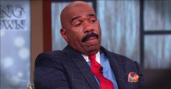 Steve Harvey Gets Emotional Talking About Daughter's Wedding