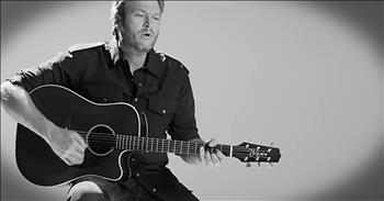 Blake+Shelton+Praises+The+Lord+With+%27Savior%27s+Shadow%27