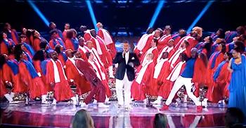 100 Gospel Choir Voices Give Energtic Performance On Britain's Got Talent