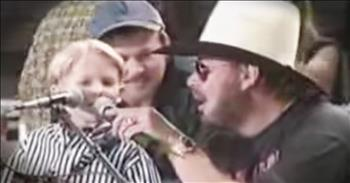5-Year-Old Hunter Hayes Sings With Hank Williams Jr. Before Becoming Superstar