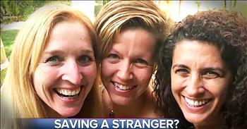 3 Women Save Complete Stranger From Dangerous Man At Restaurant