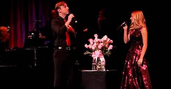 Incredible Duet From Jackie Evancho And Peter Hollens
