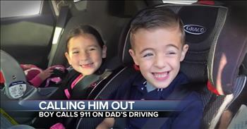 Little Boy Calls 911 On His Dad For Running A Red Light