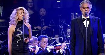 Andrea Bocelli And Tori Kelly Sing 'The Prayer' - WOW!
