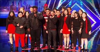 Public School Choir WOWs The Judges With Talented Audition