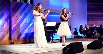 Angelic Violin Duet Of 'The Prayer' Is Beyond Beautiful