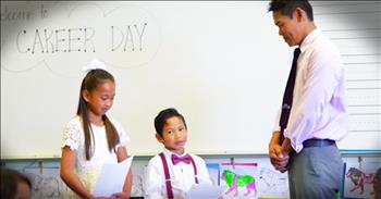 Kids Surprise Dads At Career Day With Heartfelt Letters