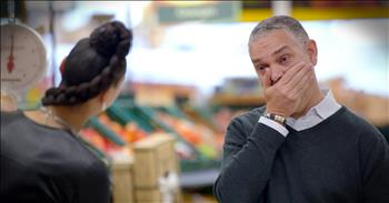 Father's Get Tear-Filled Surprise In The Middle Of Grocery Store