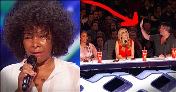 Simon Stops 62-Year-Old's Audition For 1 Amazing Reason