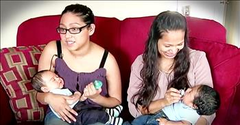 Mother And Daughter Discover They Are Pregnant At The Same Time