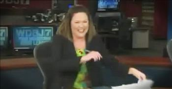 News Anchor Cannot Stop Laughing At News Story