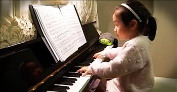 3-Year-Old Piano Prodigy Will Completely STUN You