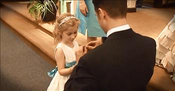 Groom Stops Wedding To Recite Vows To Soon-To-Be Step-Daughter