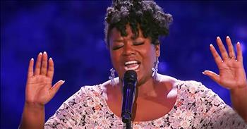 Woman's Amazing Second Audition Earns Standing Ovation