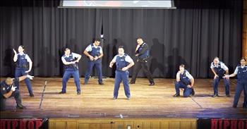 Cops Stun The Crowd With Surprise Dance Performance