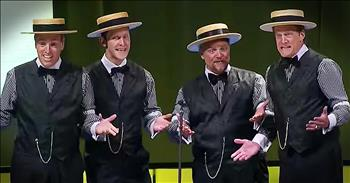 Barbershop Quartet's Pop Song Medley Is Toe-Tapping Good