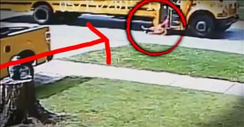 7-Year-Old Dragged By School Bus After Doors Trap Her Backpack