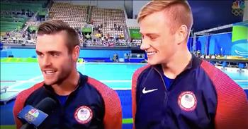 Olympic Divers Give ALL The Glory To God After Silver Medal Win
