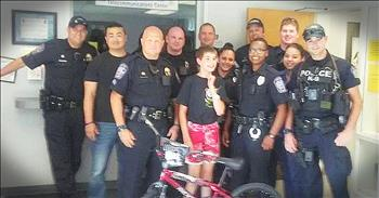 Police Department Replace Stolen Bike For Boy With Autism