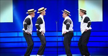 Barbershop Quartet Sings The Hilarious Evolution Of Dance