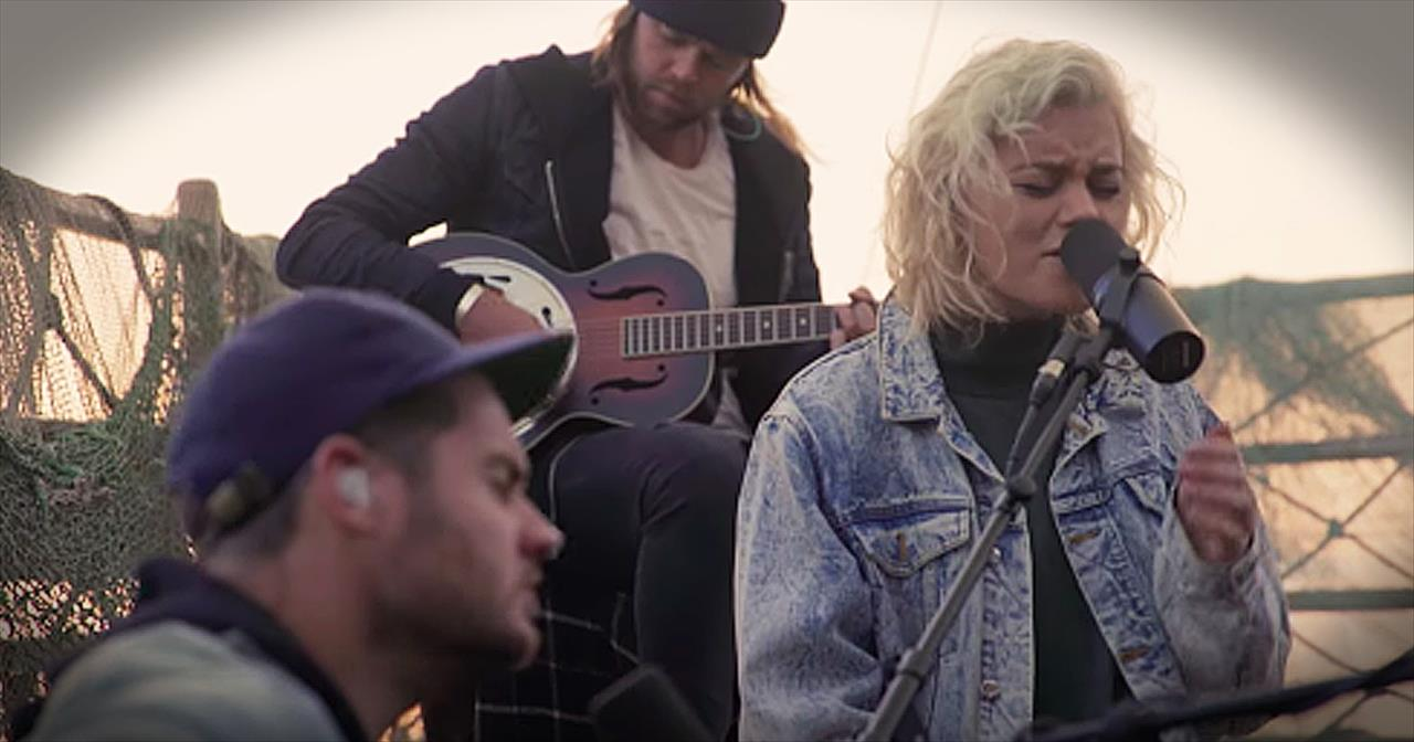 Hillsong+United+Performs+%27Oceans%27+On+The+Sea+Of+Galilee