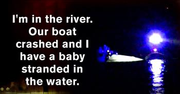 Toddler Trapped Under A Boat Gets A Miraculous Rescue