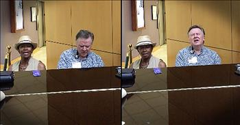Stranger At Hospital Sings Piano Duet With Preacher