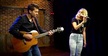 'Through Your Eyes' - Live Acoustic Performance From Britt Nicole