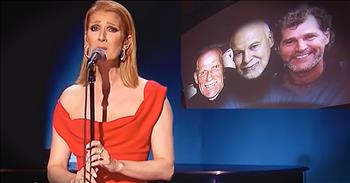Celine Dion Sings Emotional Song 'Recovering' In Honor Of Late Husband