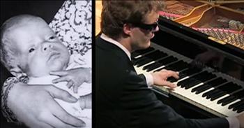 Derek Can't Button A Shirt, But He Is A Piano Prodigy