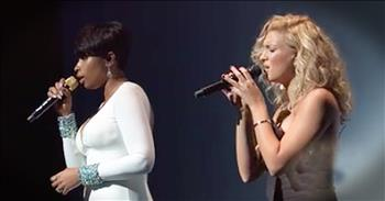 Tori Kelly And Jennifer Hudson Sing Beautiful Rendition Of 'Hallelujah'