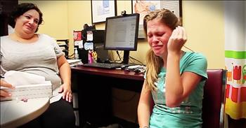 Young Girl Hears Mother's Voice For The First Time