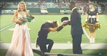 Homecoming King Gives His Crown To Friend Who Has Cerebral Palsy