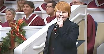 Young Boy Sings 'What a Lovely Name' In Church