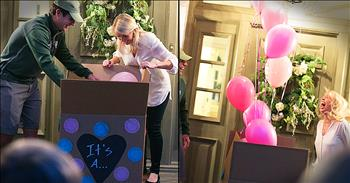 Gender Reveal Announces First Girl Grandchild After 11 Boys