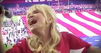 Broadway Singer Sings Soulful Rendition Of 'The National Anthem'