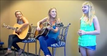 Young Girl Overcomes Odds And Sings With Country Music Duo