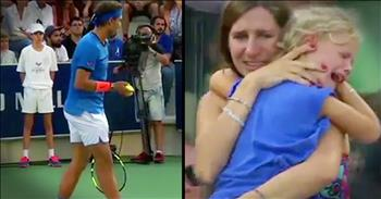 Tennis Player Stops Match For Mother To Reunite With Toddler