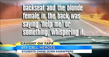 Teenagers Save Woman From Attempted Kidnapping