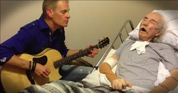 Musician Sings For His Dying Father In The Hospital