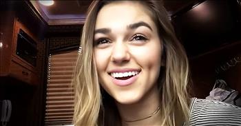Sadie Robertson Has Inspirational Message For Girl's Around The World