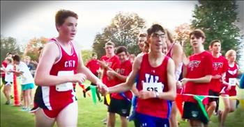 Teen Runner's Act Of Kindness For A Competitor Is True Sportsmanship