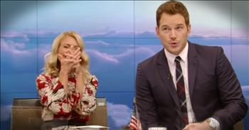 Actor Chris Pratt Steps Up When He Accidentally Gives Away A Trip On Live TV