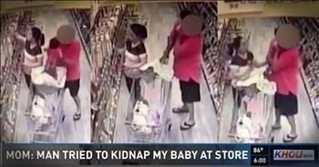 Man Tries To Steal A Baby Out Of A Grocery Cart