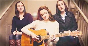 Amazing Grace - The Wood Sisters (Live in a Stairwell)