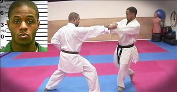 Martial Arts Instructor Saves Woman Being Attacked