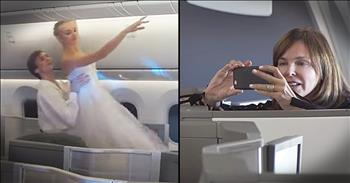 Ballet And Musical Performance Surprises Airplane Passengers